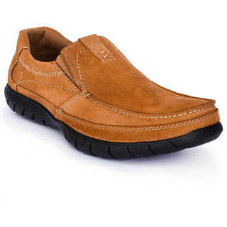 Action Tan Synthetic Leather Formal Shoes