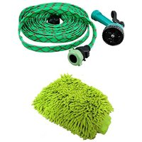 Car Wash Water Spray Gun with Free Car Wash Hand Gloves