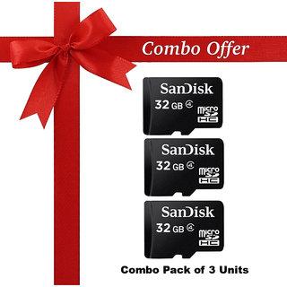 (Pack of 3) Sandisk 32 Gb memorydrive