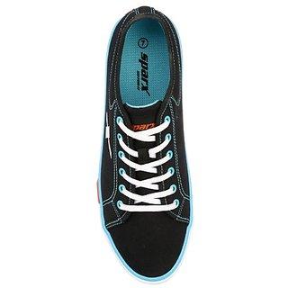 9123d8cc0c Buy SC0283G SPARX Men Canvas Shoes (SM-283 Black) Online - Get 0% Off