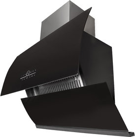 Gamle Kitchen Emma 90 Black Wall Mounted Chimney