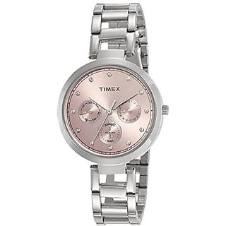 Timex Analog Pink Dial Womens Watch-TW000X212