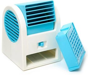 KSJ Office Mini Cooler with Ice Tray and Fragrance (Assorted Colors)
