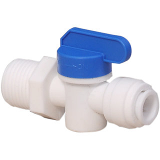 Flora RO Inlet Valve PVC 1/2 X 3/8 Size Pipe for RO UV Water Purifier