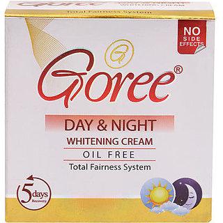 GOREE DAY AND NIGHT WHITENING CREAM.