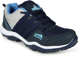 Jiasco Men's Navy Blue Gray Training Shoes
