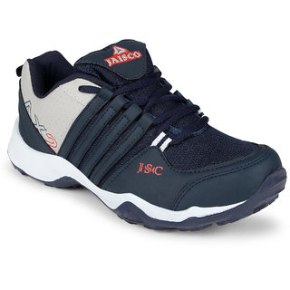 Jaisco Men's Navy & Gray Sports Shoes
