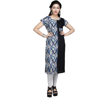 Vedika Creations Cotton & Rayon Multi Kurta Kurti