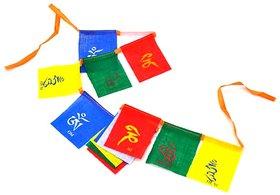 Buddhist Tibetan Prayer MANTRAS flag OM Mani (SUVs) for bike and car