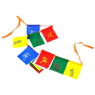 Buddhist Tibetan Prayer MANTRAS flag OM Mani (SUVs) for bike and car