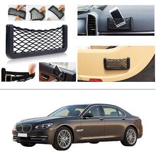 AutoStark Storage Bag Box Car Seat Side Back Net Phone Holder Pocket Organizer For BMW 7-Series