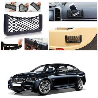 AutoStark Storage Bag Box Car Seat Side Back Net Phone Holder Pocket Organizer For BMW 5-Series