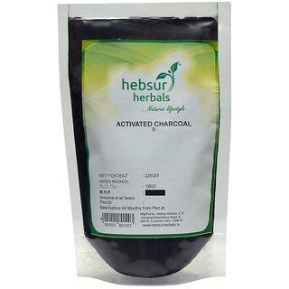 Hebsur Herbals Activated Charcoal Powder 225 Gm
