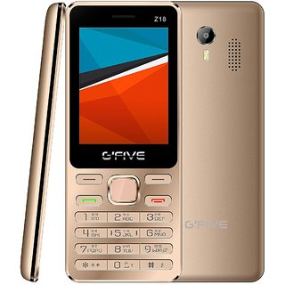 GFIVE Z18 (Dual Sim 2.4 Inch Display 1200 Mah Battery)
