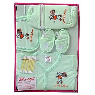 bc605a3cedf34 Buy New Born Baby Gift Set - Cotton Online - Get 70% Off