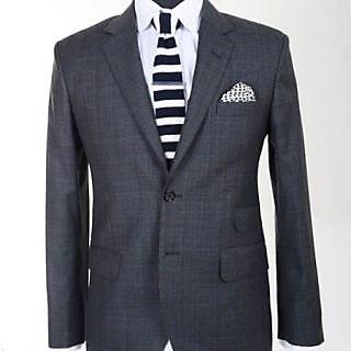 Gwalior Suit Length - Black