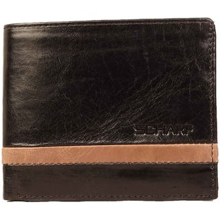 Scharf Mens Genuine Leather Bi-Fold Wallet for Men AEPMWA12