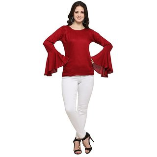 4df08287331e3 Buy Reeva Trendz Women s Rayod Fancy Top Online   ₹649 from ShopClues