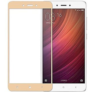 Xiaomi Redmi 5A Gold Tempered Glass Screen Guard and Screen Protector For Redmi 5A (Gold) 0.3MM