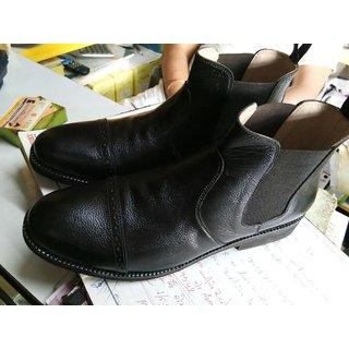 pure leather boot shose