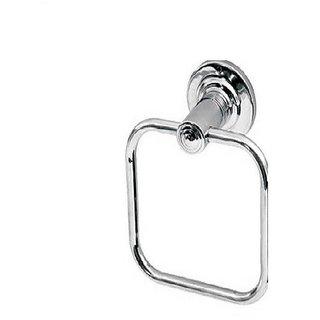 Prestige (Square Shape) Bathroom and Kithchen chrome Towel Holder