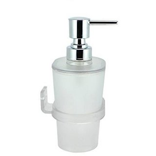Prestige Oval Soap Dispenser 500 ml Lotion Conditioner Soap Shampoo Dispenser (Material Acrylic Unbreakable)