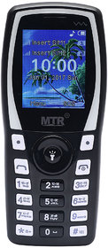 MTR MT1103 DUAL SIM MOBILE PHONE IN BLACK AND WHITE COL