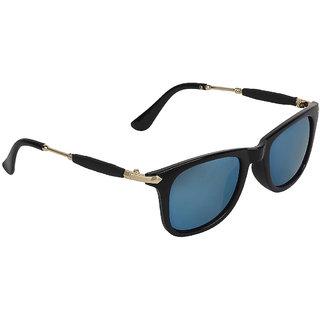 Zyaden Black Wayfarer Unisex Sunglasses 140