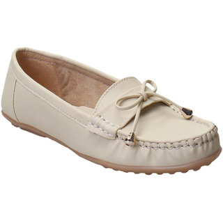 Catbird Women Cream Loafers