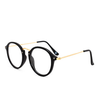 Royal Son Full Rim Round Spectacle Frame For Men and Women (RS008SF47Transparent Lens)