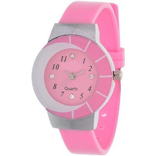 NEW AGE OF FASHION PINK BERRY Analog Watch - For Women