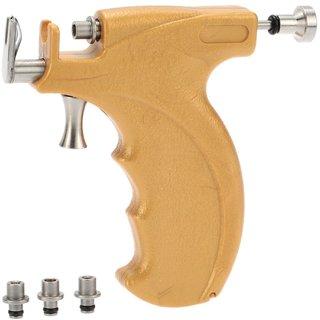 Professional Salon Steel Ear Piercings Gun Instrument Tool Kit Shots, 12pairs Set of Studs Jewelry for Men  Women