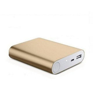 AMA METAL FAST CHARGING 10400 MAH POWER BANK (GOLD)