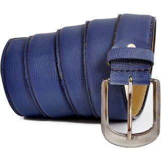 Stylox Men Casual Blue Synthetic Belt-STX-214
