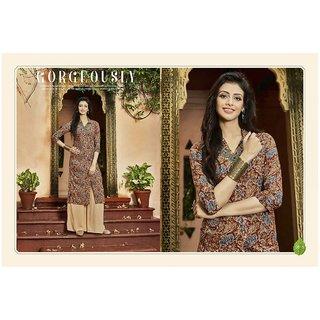 Mayukh Fashion printed front slit kurti with Palazzo