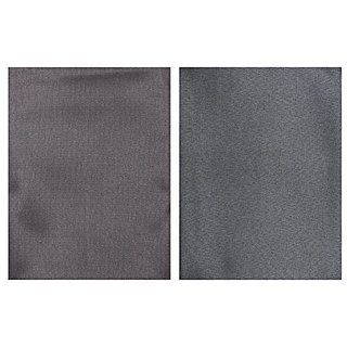 Dear Man GWALIOR SUITINGS Mens Synthetic Trousers Fabric - Combo of 2 (Black and Black) Measure-1.25Metre