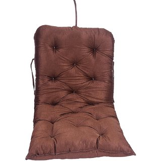 AE Cotton swing accessories jhula and coloured swings pillow cushion gadi Brown