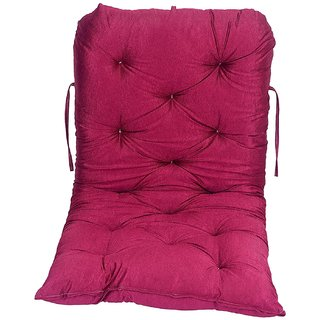 AE Cotton swing accessories jhula and coloured swings pillow cushion gadi Red