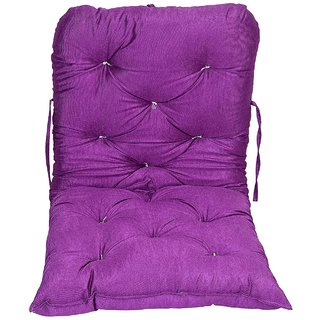 AE Cotton swing accessories jhula pillow cushion gadi purple
