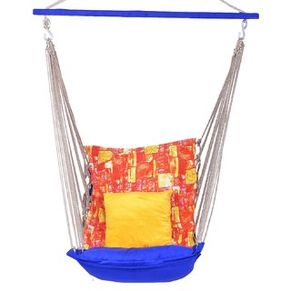 EA Velvet Cotton Swing Hammock Jula ZulaFor Adult Indoor Outdoor