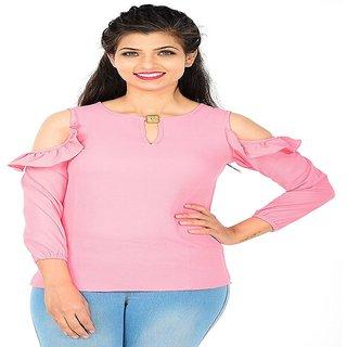 ca279c63acce8 Buy Women Wed New Designer Pink Western Wear Tops Online - Get 50% Off