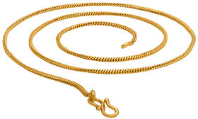Beadworks Women Gold Plated Gold Brass Copper Chain