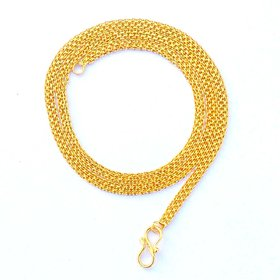 Beadworks Gold Plated Chain for Women (Chain-08)