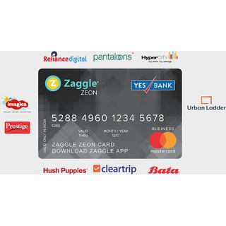 Zaggle Zeon ClearTrip Card