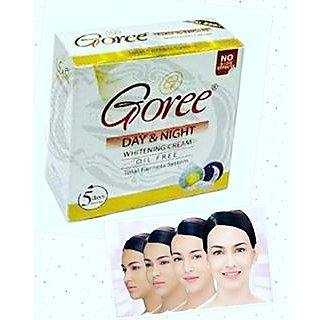 Goree Day  Night Whitening Cream (Oil Free).
