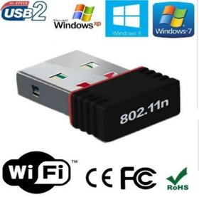 Wi Fi Receiver 300Mbps, 2.4GHz, 802.11b/g/n USB 2.0 Wireless Mini Wi Fi Network Adapter