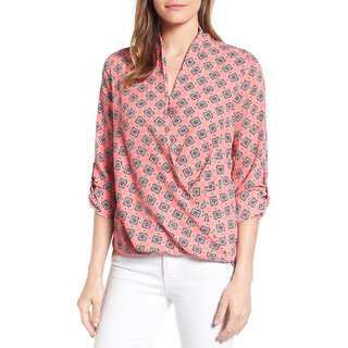 a6b38f386839 Buy Women Wed New Printed Pink Women s Western Wear Tops (S) Online - Get  54% Off