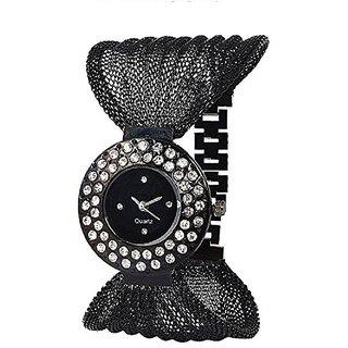 i DIVAS New brand Black deal Analog Watch For Girls Women All