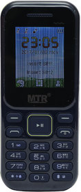 MTR MT310 DUAL SIM MOBILE PHONE IN BLACK COLOR