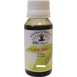 Pure Neem Oil 200 Ml From 3G Organic